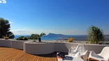 Fantastic panoramic views from the terrace