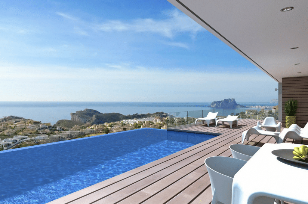Your home with sea views in Cumbre del Sol