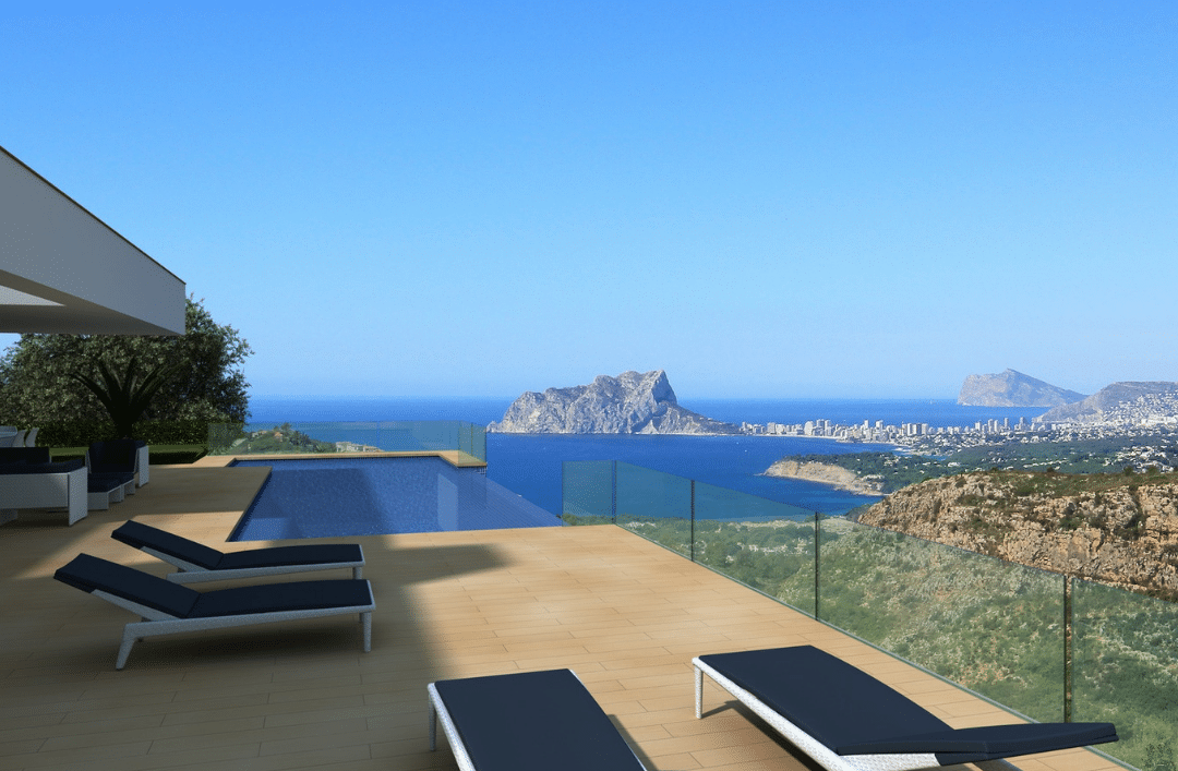 Pools with personality: perfect for enjoying the sea views