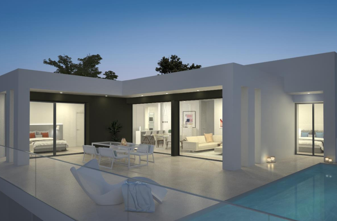 Magnolias Sunset: modern villas in a wonderful location