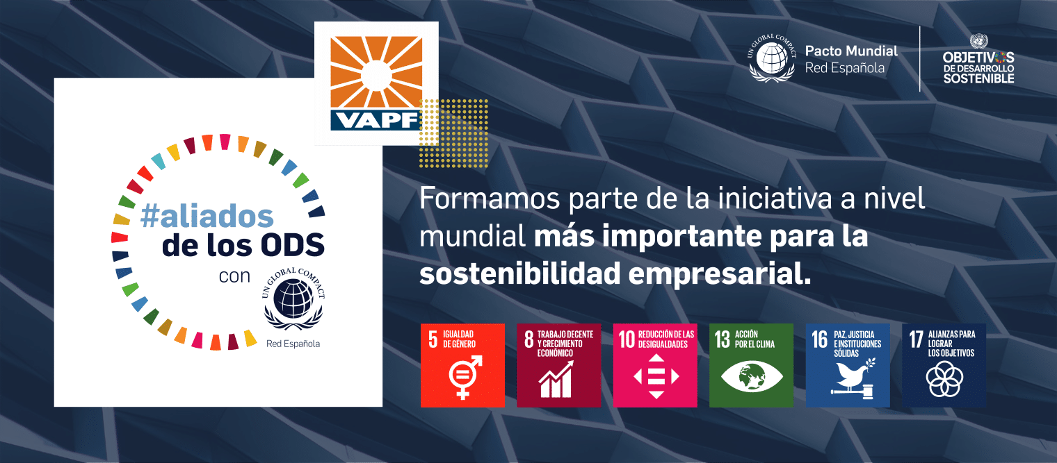 VAPF Group joins the #aliadosdelosODS campaign promoted by the Spanish Global Compact Network Grupo