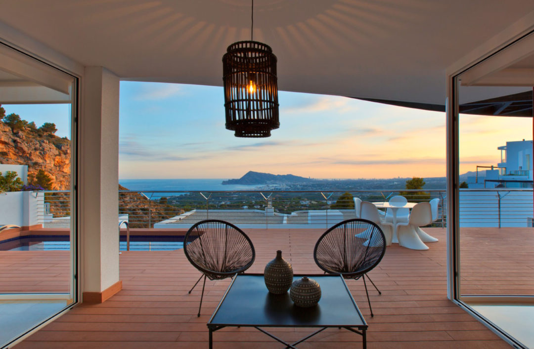 Fall in love with the villas under construction at our Blanc Altea Homes Residential Complex